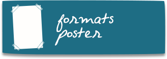 formats affiches